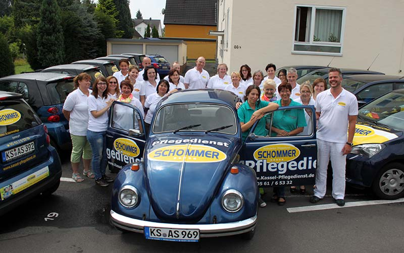 Pflegedienst Schommer Team 2015
