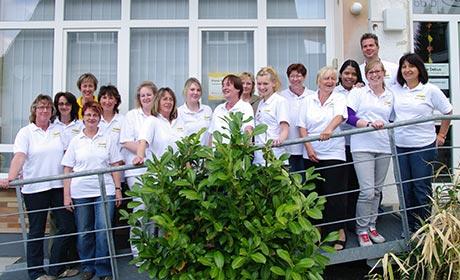 Pflegedienst Schommer Teamfoto